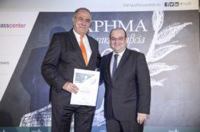 Εμβληματική Προσωπικότητα του Χρηματιστηρίου Αθηνών: Απονεμήθηκε στον κ. Γεώργιο Γεράρδο, Πρόεδρο της εταιρείας Πλαίσιο